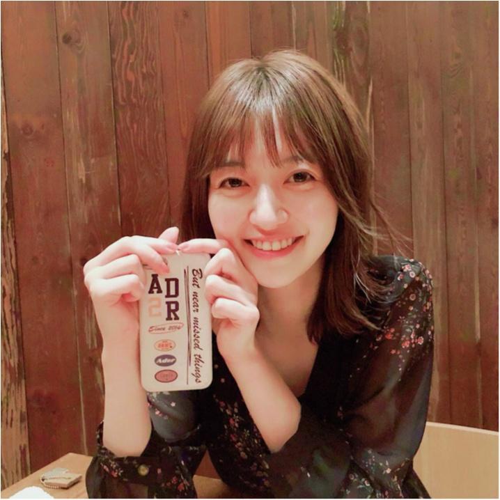 逢沢りなは、韓国ブランド『ADER error』のケース♡【モデルのオフショット:スマホケース編】_1