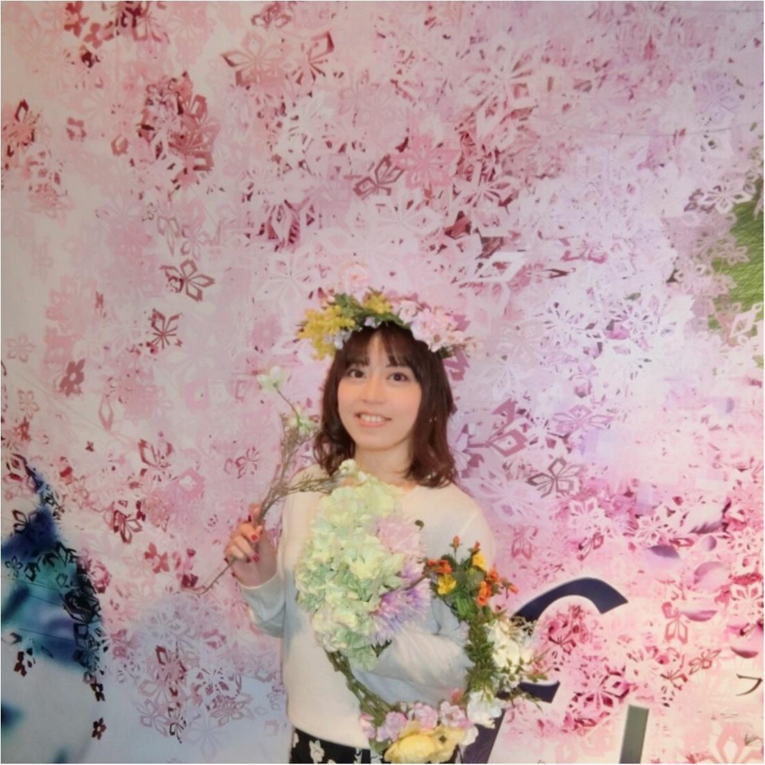 日本で一番早いお花見を、日本橋で。【FLOWERS by NAKED(フラワーズバイネイキッド)】レポ❤︎_9