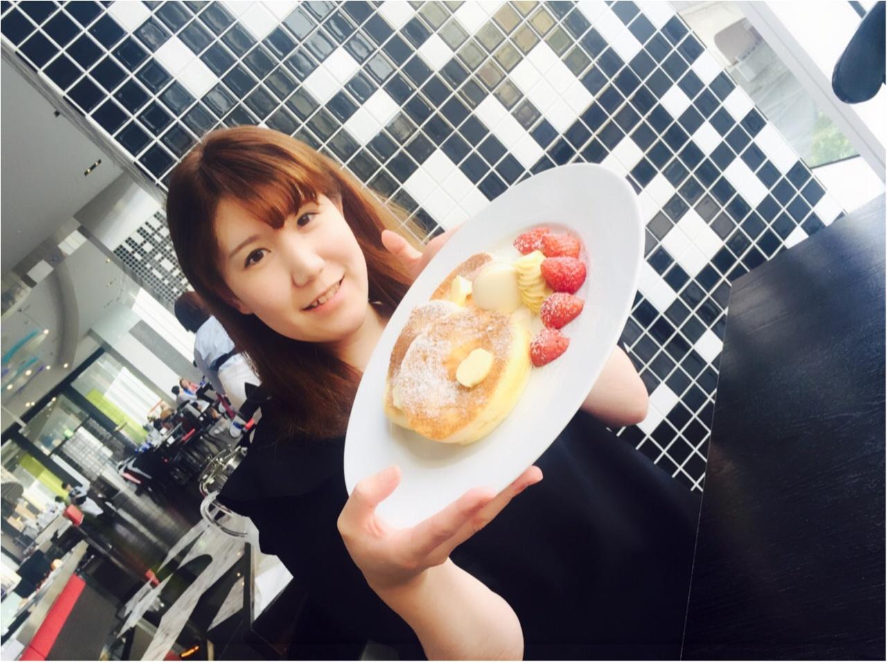 【季節限定いちご添え!】ニューオータニオリジナルパンケーキは食べなきゃ損!です♡_7