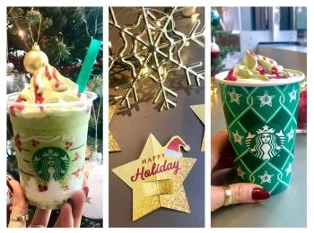 【スタバ新作試飲レポ】まるでクリスマスツリー! カスタマイズを楽しむホリデーシリーズ最終回★