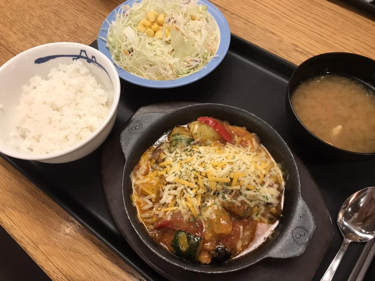 『松屋』の「カチャトーラ定食」が食べごたえ満点でおいしい! たっぷり野菜で女子にもおすすめ!!_6