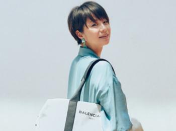 『バレンシアガ』のトートバッグや『クリスチャン ルブタン』の靴。モデル・田中美保さんが「20代で買った名品」