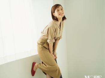 ベージュの服を着る日は「ハッピーな血色感メイク」が好相性♡ メイクで手持ちの服がもっと素敵になる♡♡