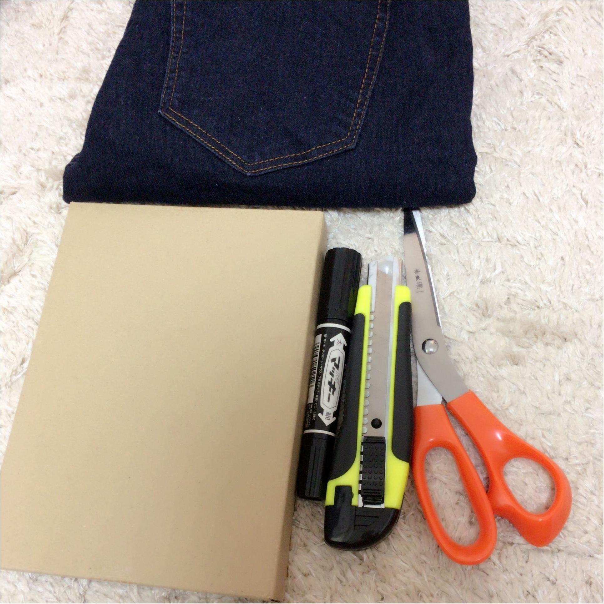 《簡単DIY》なければ作ればいい!自分好みのカットオフダメージジーンズ!!_2