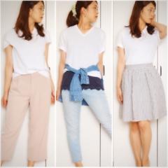 【MORE7月号】この夏白Tシャツは3枚必要‼︎まずは大人気UNIQLOパックTをゲット❤️