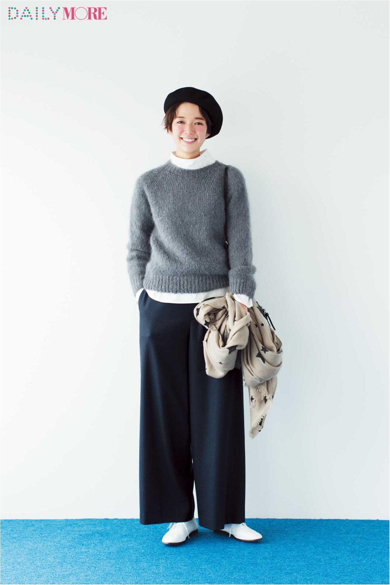 【結局着ちゃう服NO.1】シンプルなクルーニット。今年はどう着る?_2