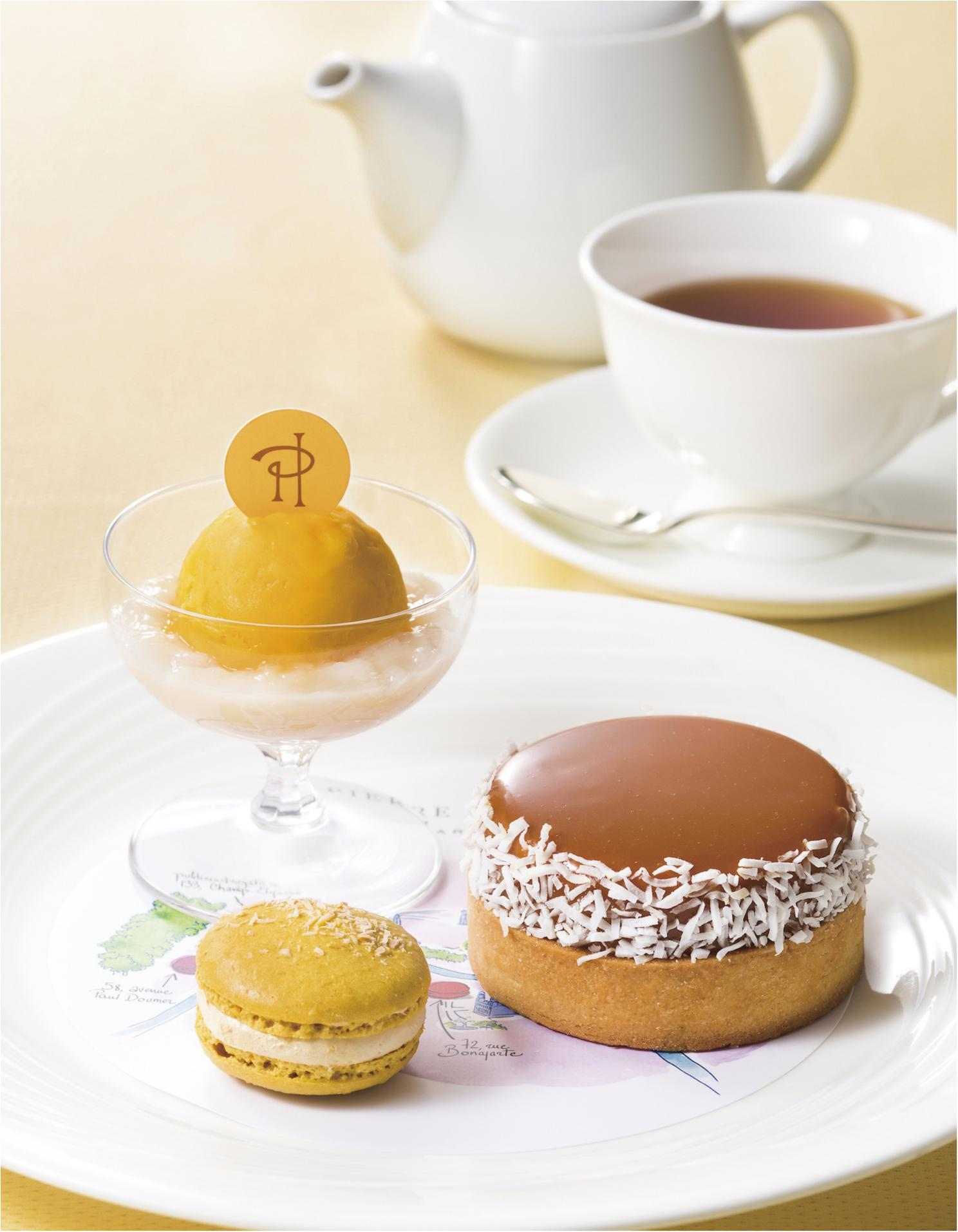『ピエール・エルメ・パリ』のデザートセットで優雅なアフタヌーンティーを♡_1