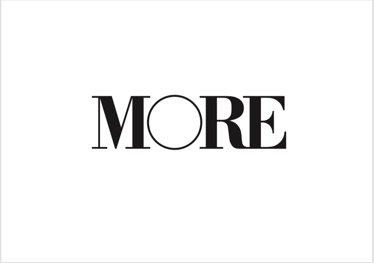 MORE6月号(通常版・増刊スペシャルエディション)特集内容の変更についてのお知らせ