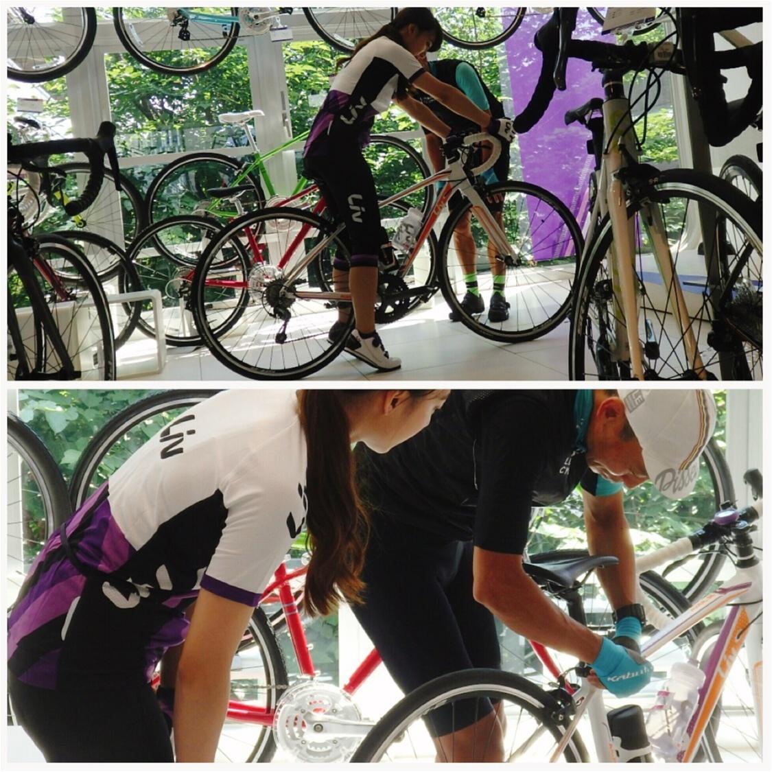 「ツール・ド・東北」に向けて…初ロードバイクレッスン♡オフィシャル・チャリティー・サイクルジャージもご紹介!【#モアチャレ さえ】_2_2