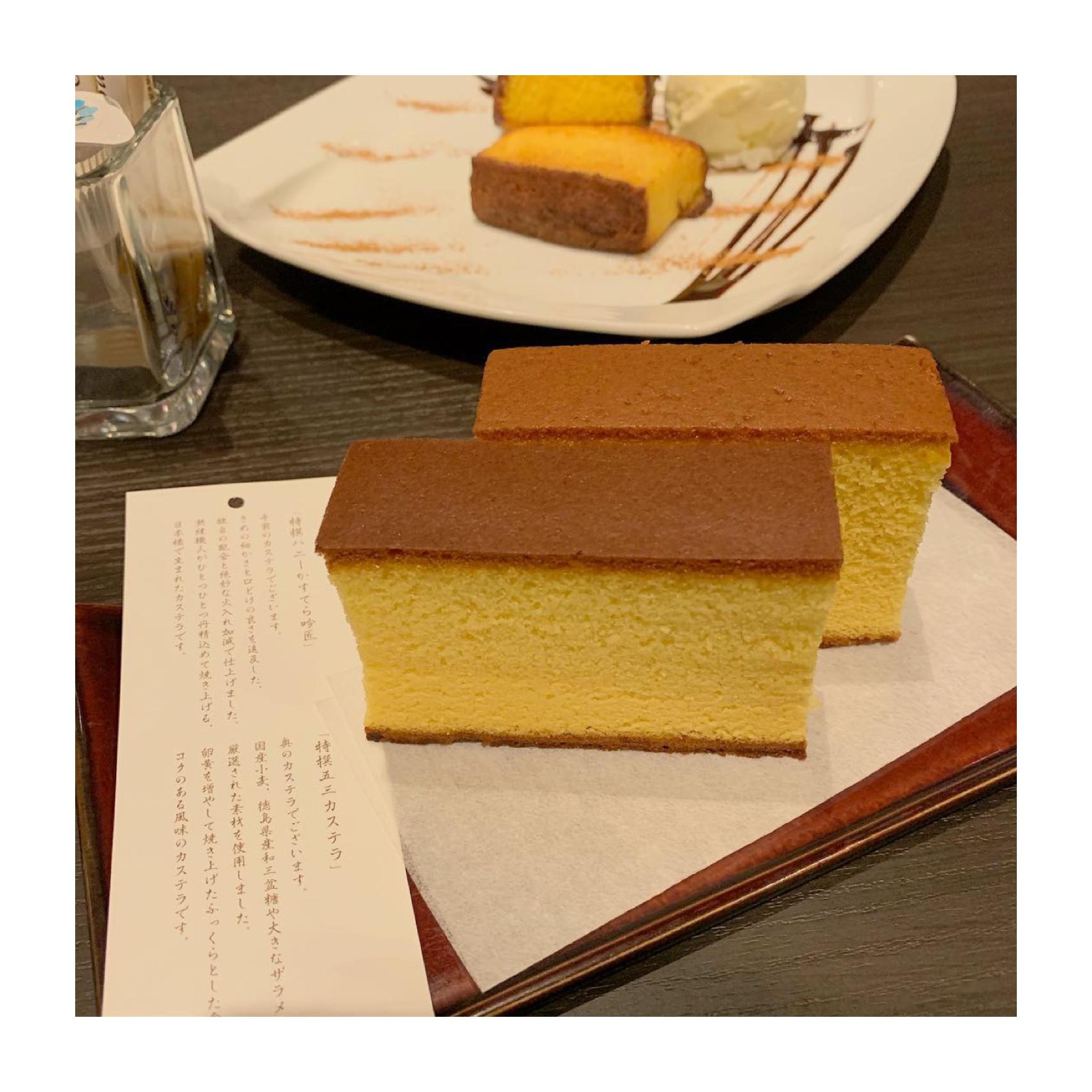 《ご当地MORE★東京》あのカステラで有名な【文明堂カフェ】のパンケーキが絶品なんです✌︎❤️_3