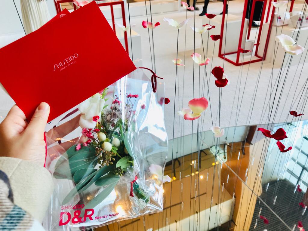 【SHISEIDO】お花いっぱい❤︎肌診断でブーケGET★《D&R Beauty House》イベントへ♡_6
