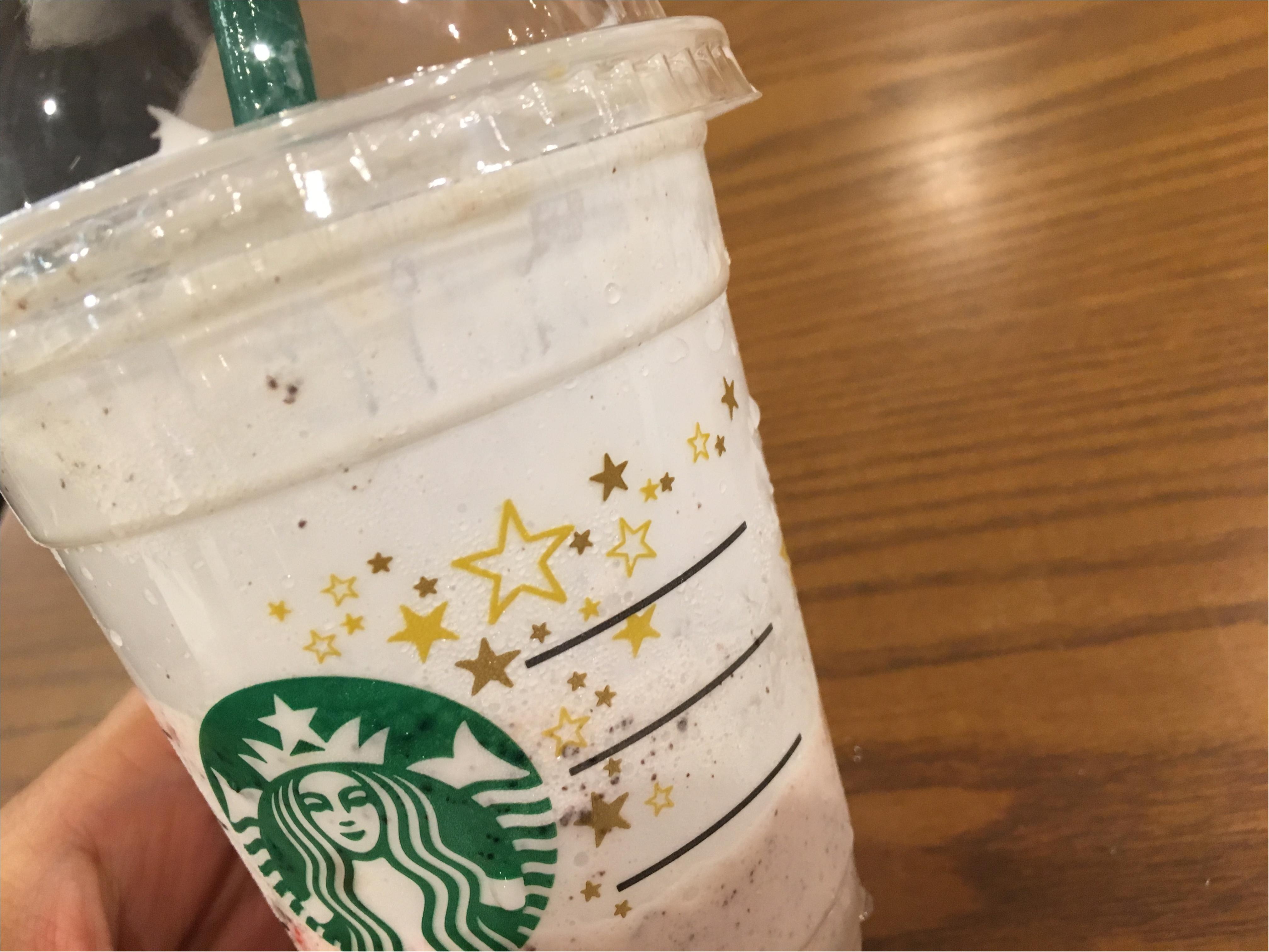 【スタバ】ザクザク★グラノーラ入り!アーモンドミルク&グラノラフラペチーノ♡♡_4