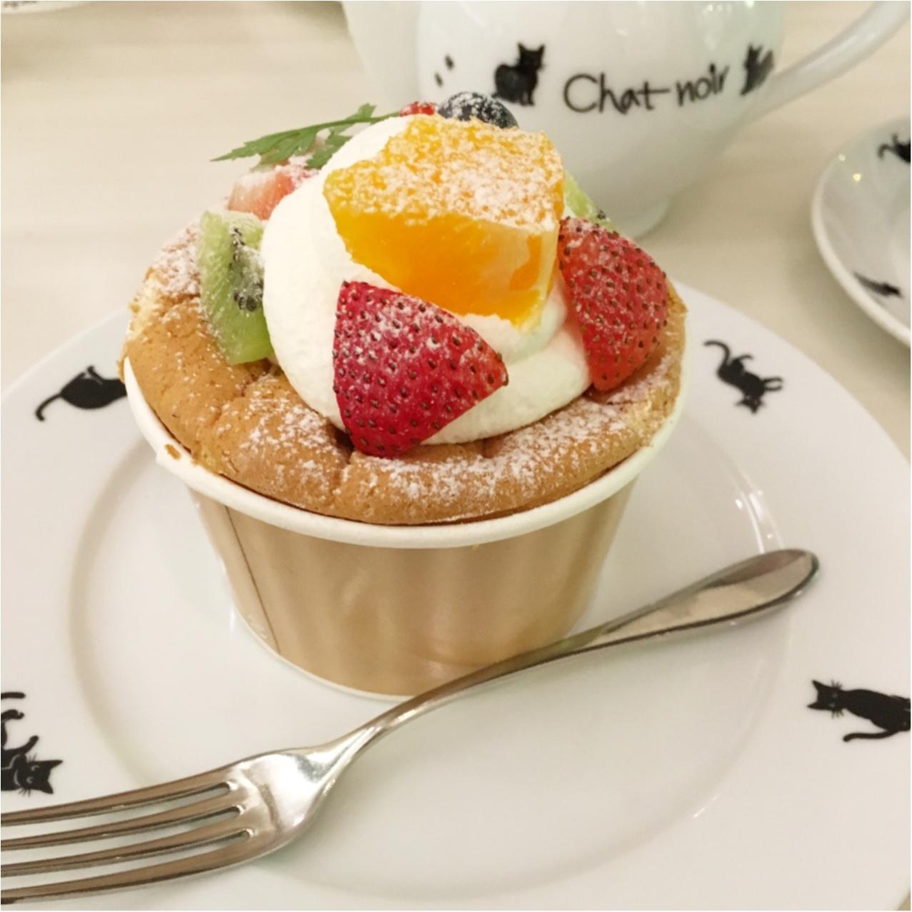 黒猫がかわいいケーキ屋さん♡ 《 シャ・ノワール 》で優雅なひととき♡_3
