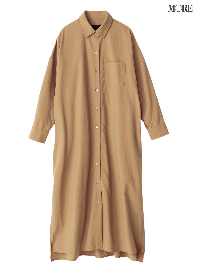 「ベージュのシャツワンピース」一枚あれば、ほとんどの場面を乗り切れると言っても過言ではないのだ!_11