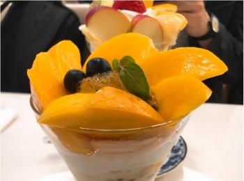 【ご当地モア❤︎東京】6月30日まで限定!千疋屋銀座本店のマンゴーパフェが絶品すぎる♡♡
