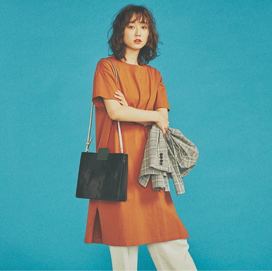 『GU』ワンピや映えるバッグ、内田理央が魅せる夏ブラも見逃せない♡【今週のファッション人気ランキング】_1_3