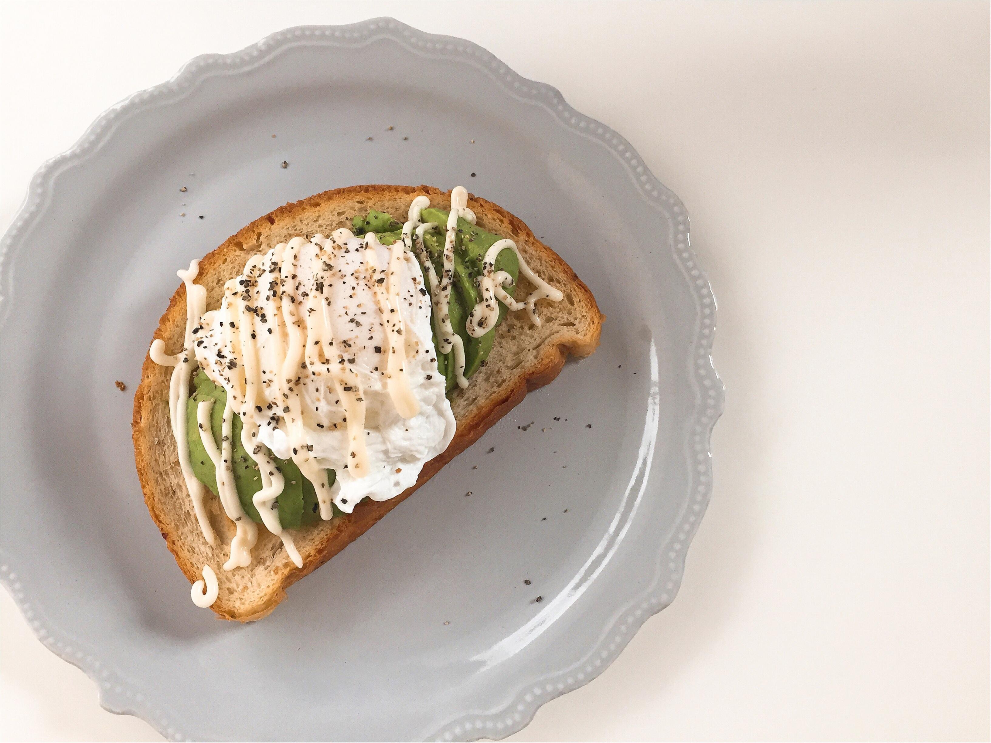 【おうちカフェ】2種類のアボカドトーストで朝ごパン!!_2