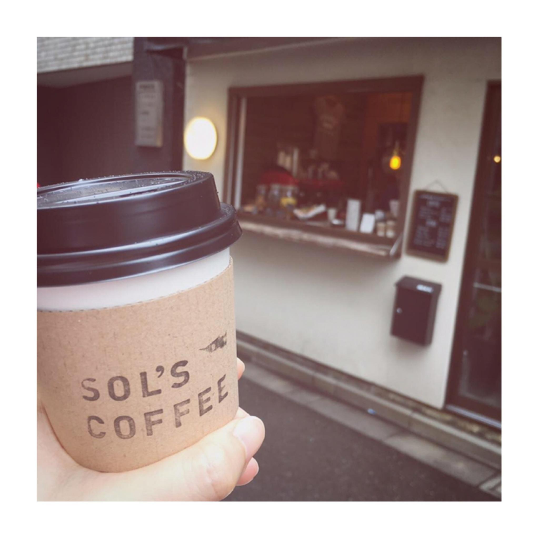 #15【#cafestagram】❤️:《東京•蔵前》身体にやさしいコーヒーを飲みに『SOL'S COFFEE』へ☻_1