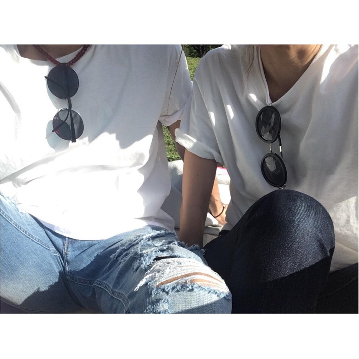 ●●●のTシャツでさりげない大人リンクコーデ★_1