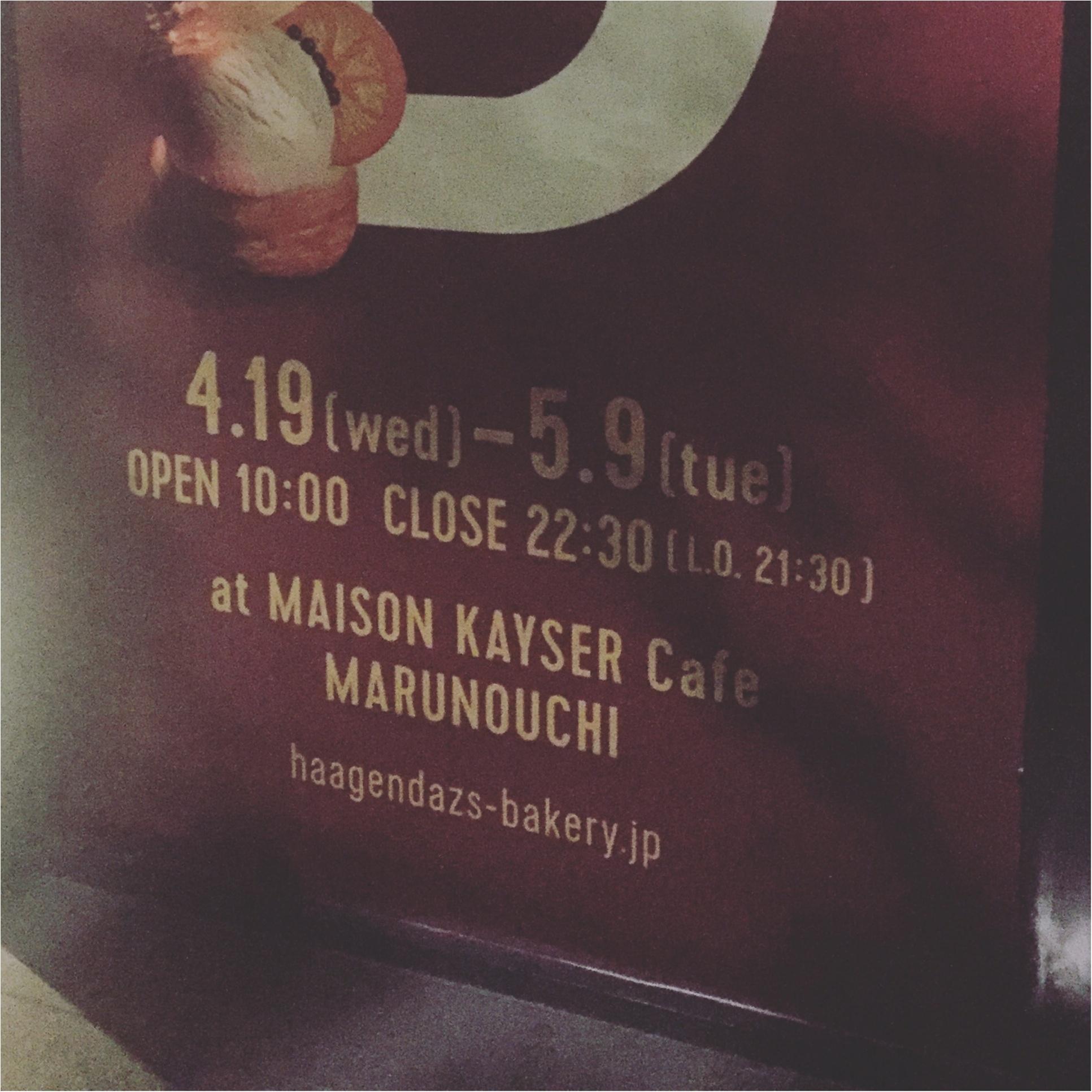 【GWお出掛けスポット】5/9まで!ハーゲンダッツ×メゾンカイザーがコラボしたカフェでアイスパンをいただき☆≪samenyan≫_2