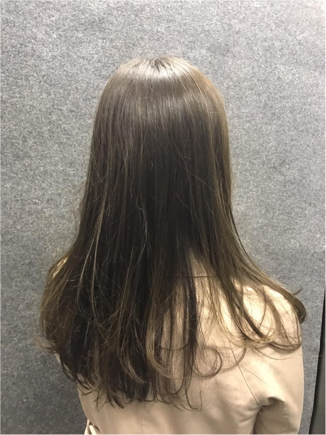 カラーチェンジで髪も春ルンルン♬_2