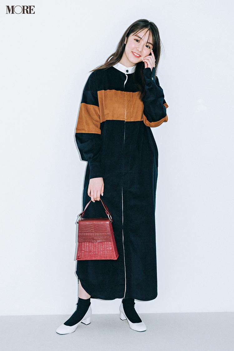 秋コーデ特集《2019年版》- トレンドのブラウンや人気のワンピース・スカートでつくる、20代におすすめのレディースコーデ_4