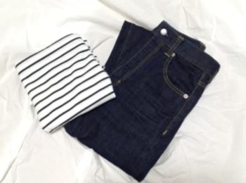 【GU】神デニム♡ハイウエストストレートジーンズをやっと購入!