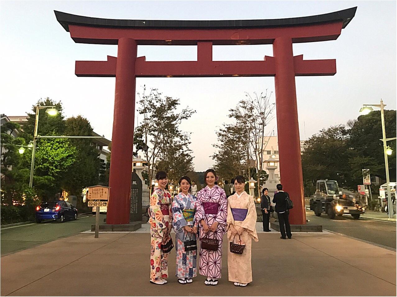 【着物でフォトジェニック!】『今の季節にオススメな』鎌倉で食べ歩きしたい方必見!ご紹介します♡_1