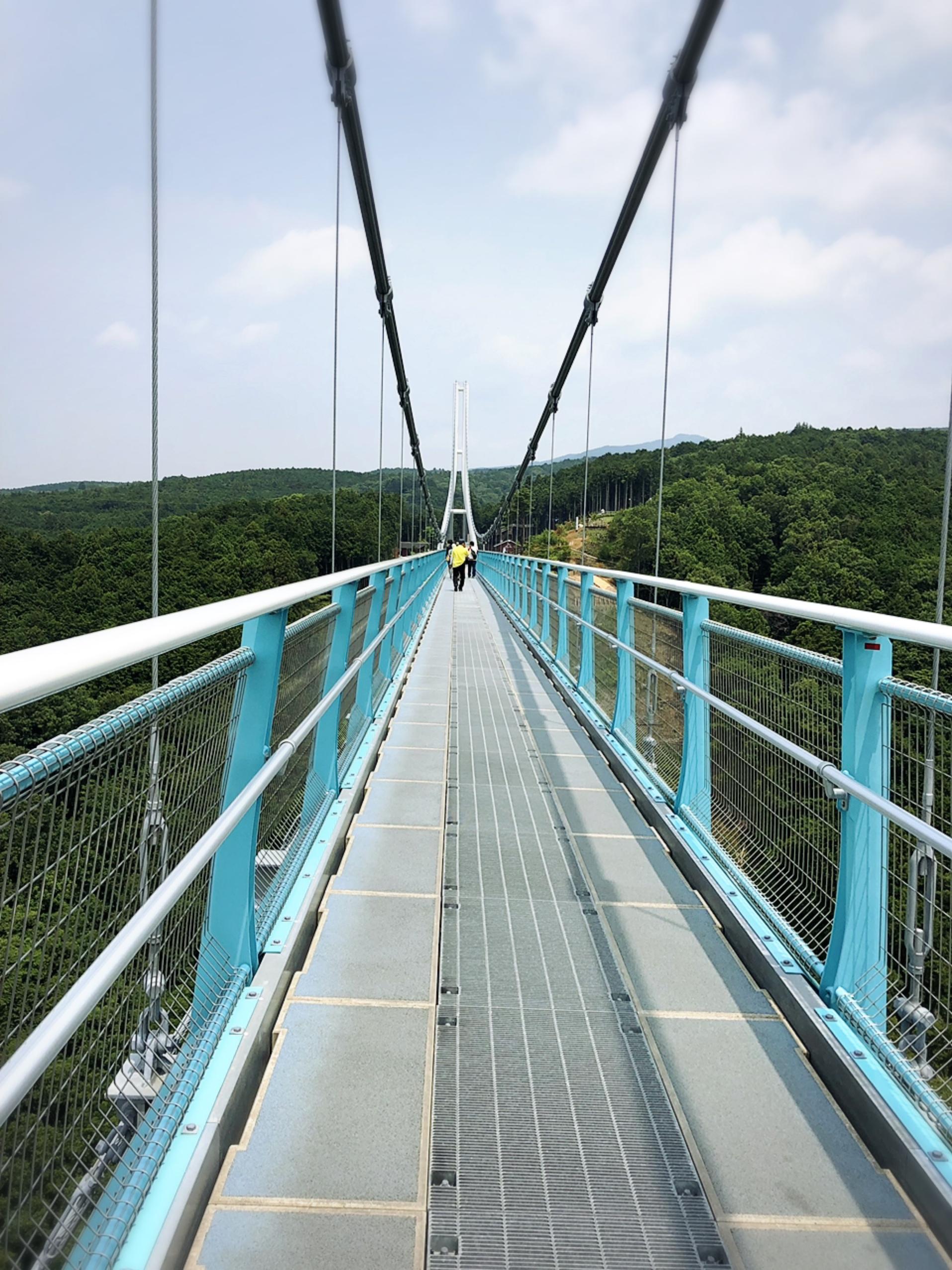 【静岡・三島】箱根のすぐ近く♩日本一長い吊り橋「三島スカイウォーク」に行ってきました!_3