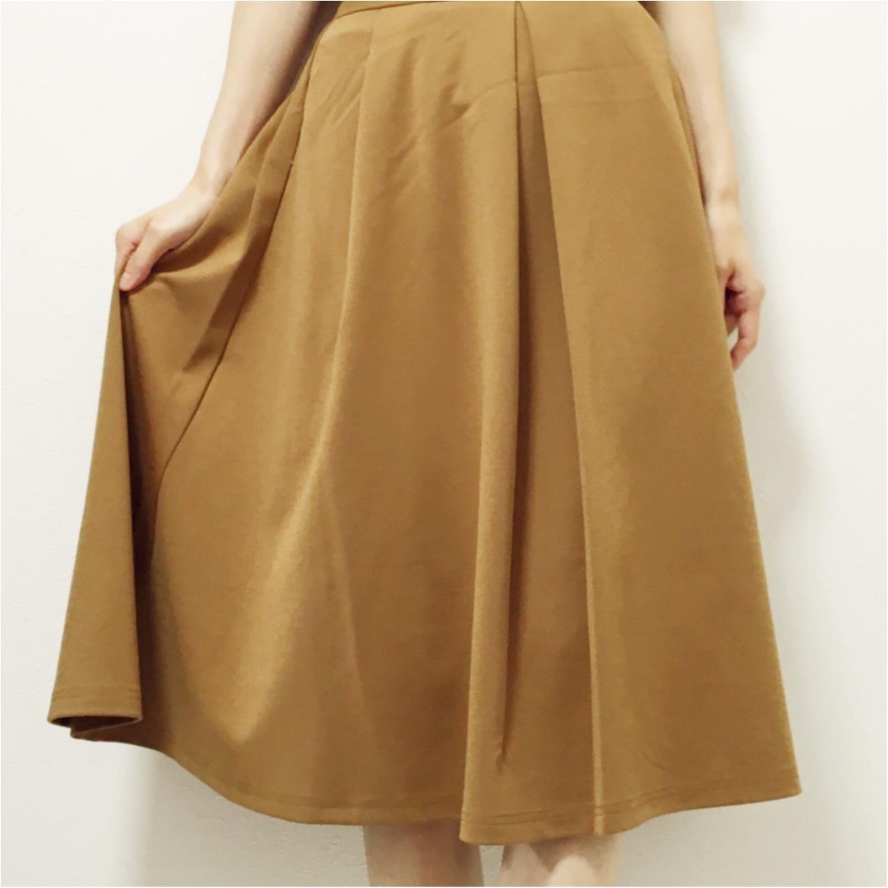 秋はブラウンが主役 ♡ GUスカートでプチプラ秋コーデ♪_1