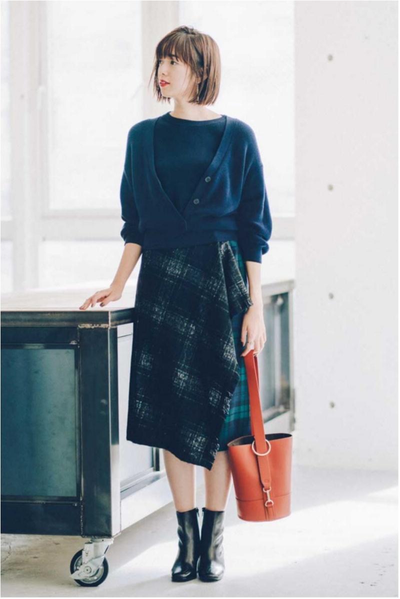 2018年秋のファッション カーディガンまとめ6