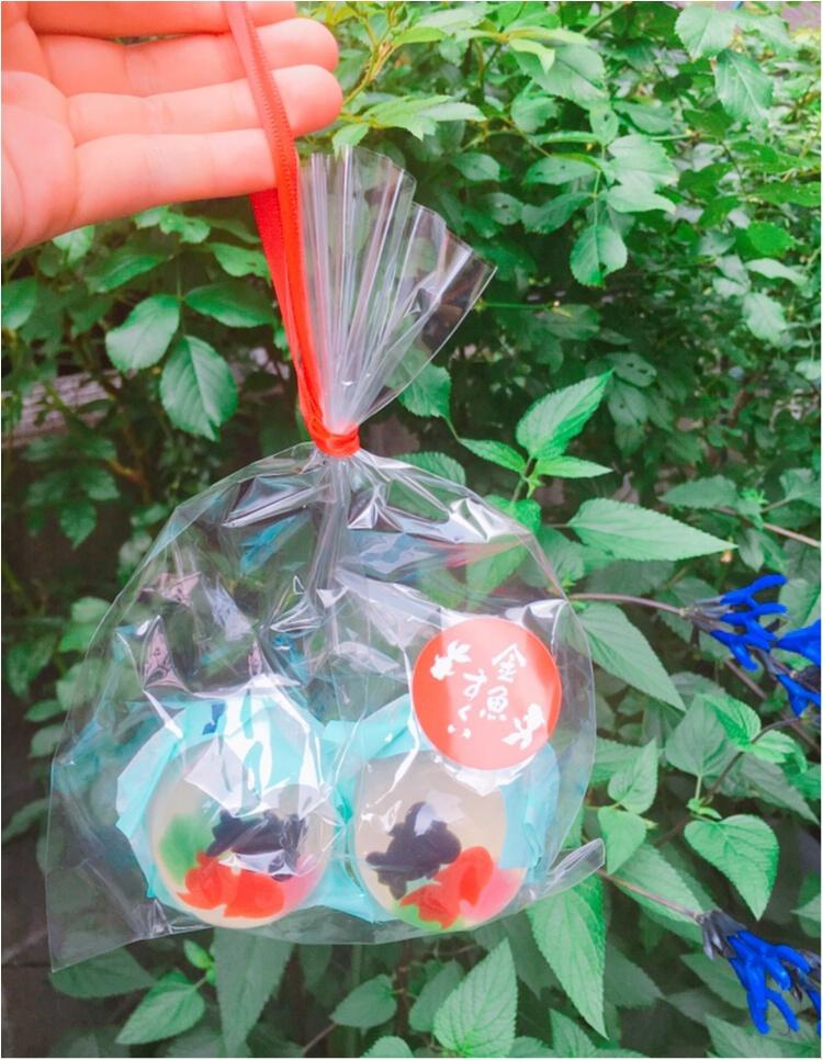 【フォトジェニックグルメ】本物の金魚?!『金魚すくい風ゼリー』が夏らしくてかわいい♡♡_2