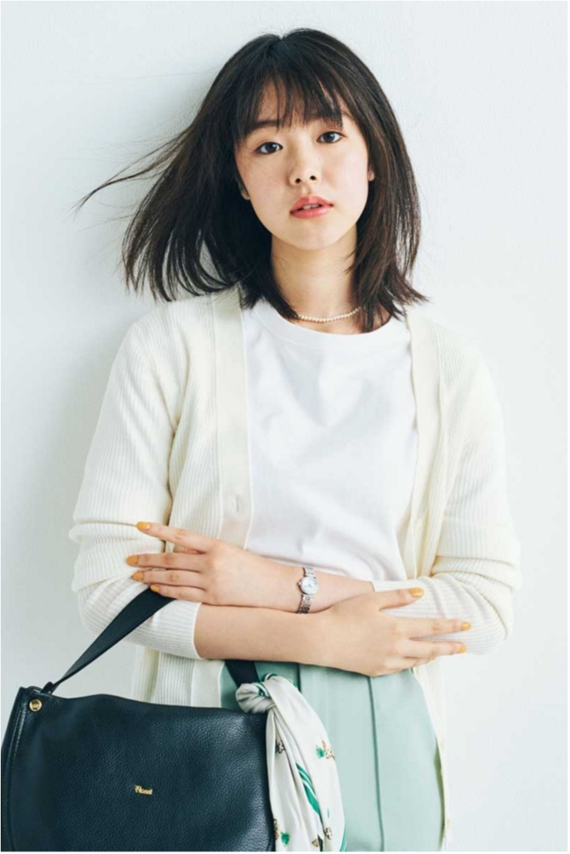 2018年秋のファッション カーディガンまとめ17