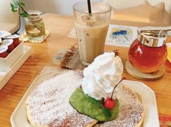 【みおしー遠征ログ❤︎宮城】仙台遠征のモーニングは「38mitsubachi」のパンケーキで決まり!