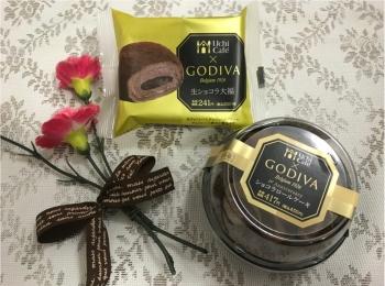 GODIVAショコラロールケーキ♡和スイーツ