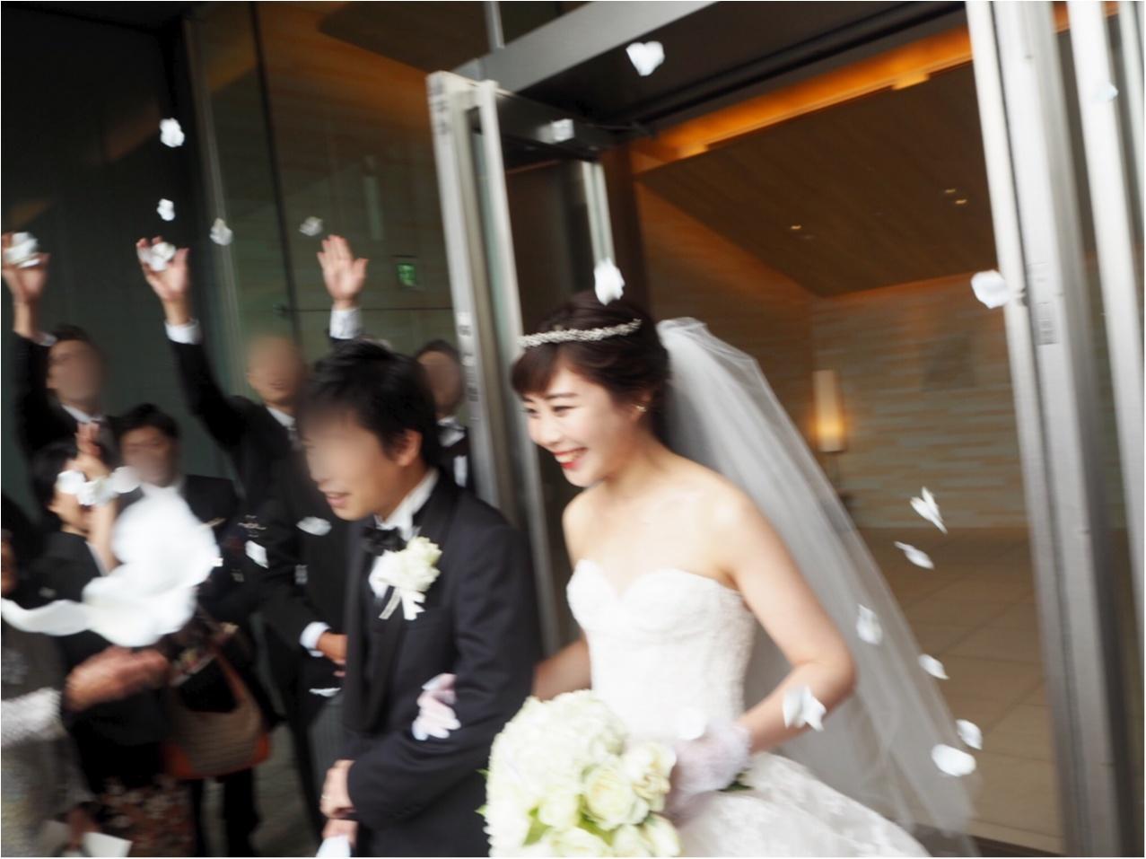 【パレスホテル東京】MOREインフルエンサーNo.600 asuちゃんの素敵な結婚式❤︎_3