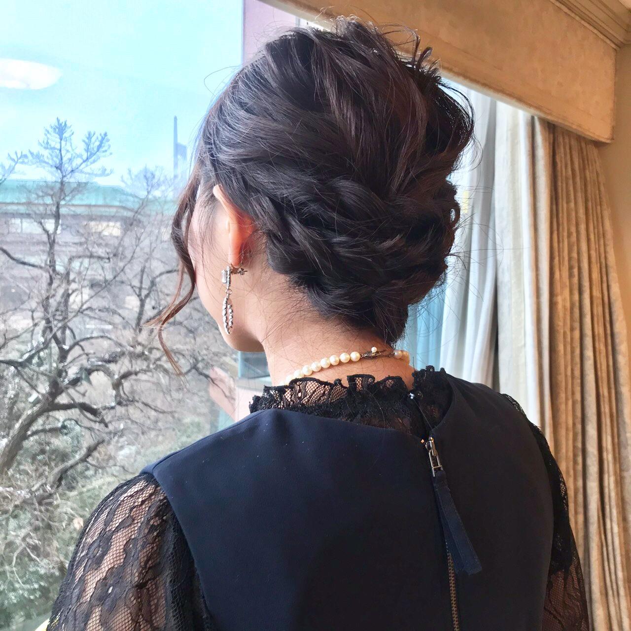 結婚式特集《髪型編》- 簡単にできるお招ばれヘアアレンジや、おすすめヘアアクセサリー_32