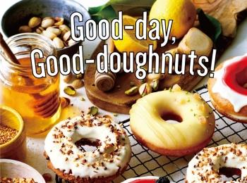 『クリスピー・クリーム・ドーナツ』の新作は、ブランや糀を練り込んだ体に嬉しいドーナツ☆