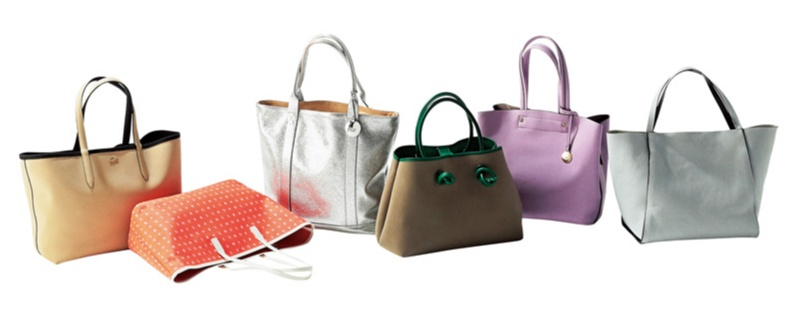 この夏、パンツ派の通勤バッグは抜け感カラーのビッグトート。色のきれいさが軽やかな印象に♡_2