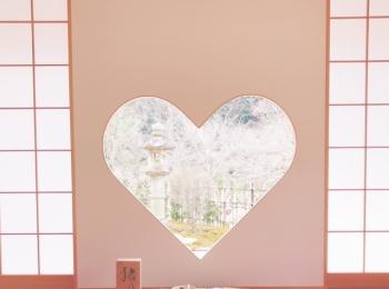 【ご当地MORE❤︎京都】インスタ映え!話題のハート型窓が撮れる⦅正寿院⦆へ♡