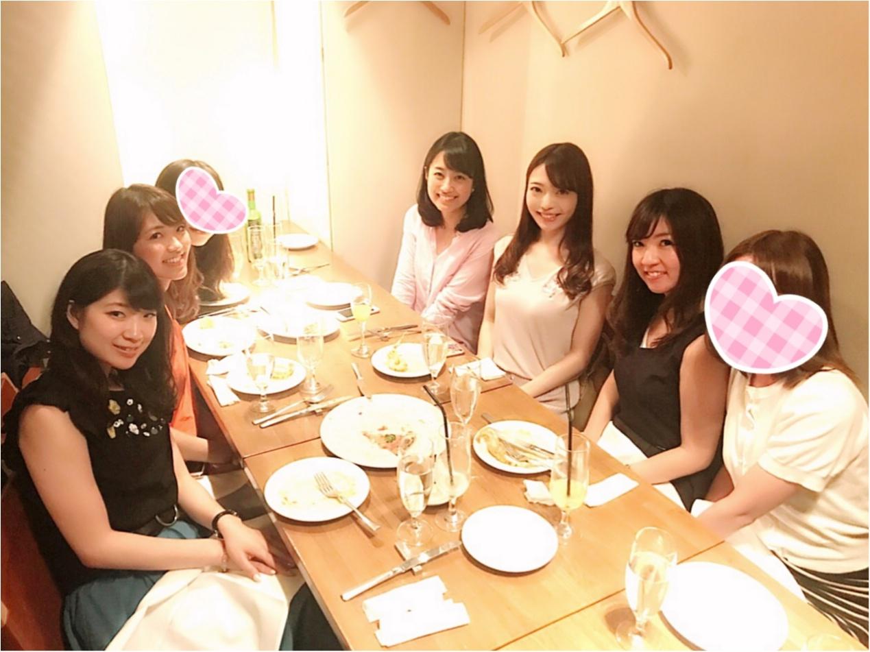 オシャレなレストランで銀座ディナー_1