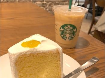 《 スタバの新作♪ 》爽やかふわふわ ♡夏にぴったり!レモンシフォンケーキ ♡♡