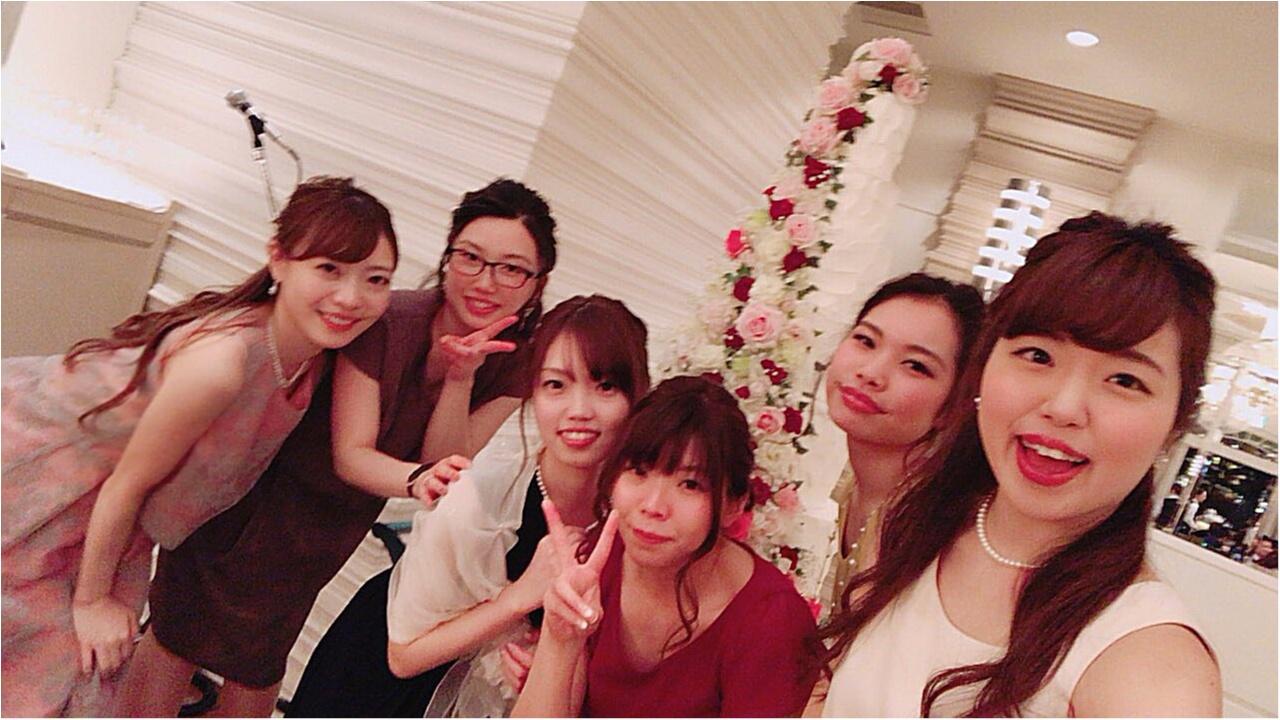 《Happy wedding》around25お呼ばれコーデは華やかにカラードレスにハーフアップで♡式に華を添えましょう!_11