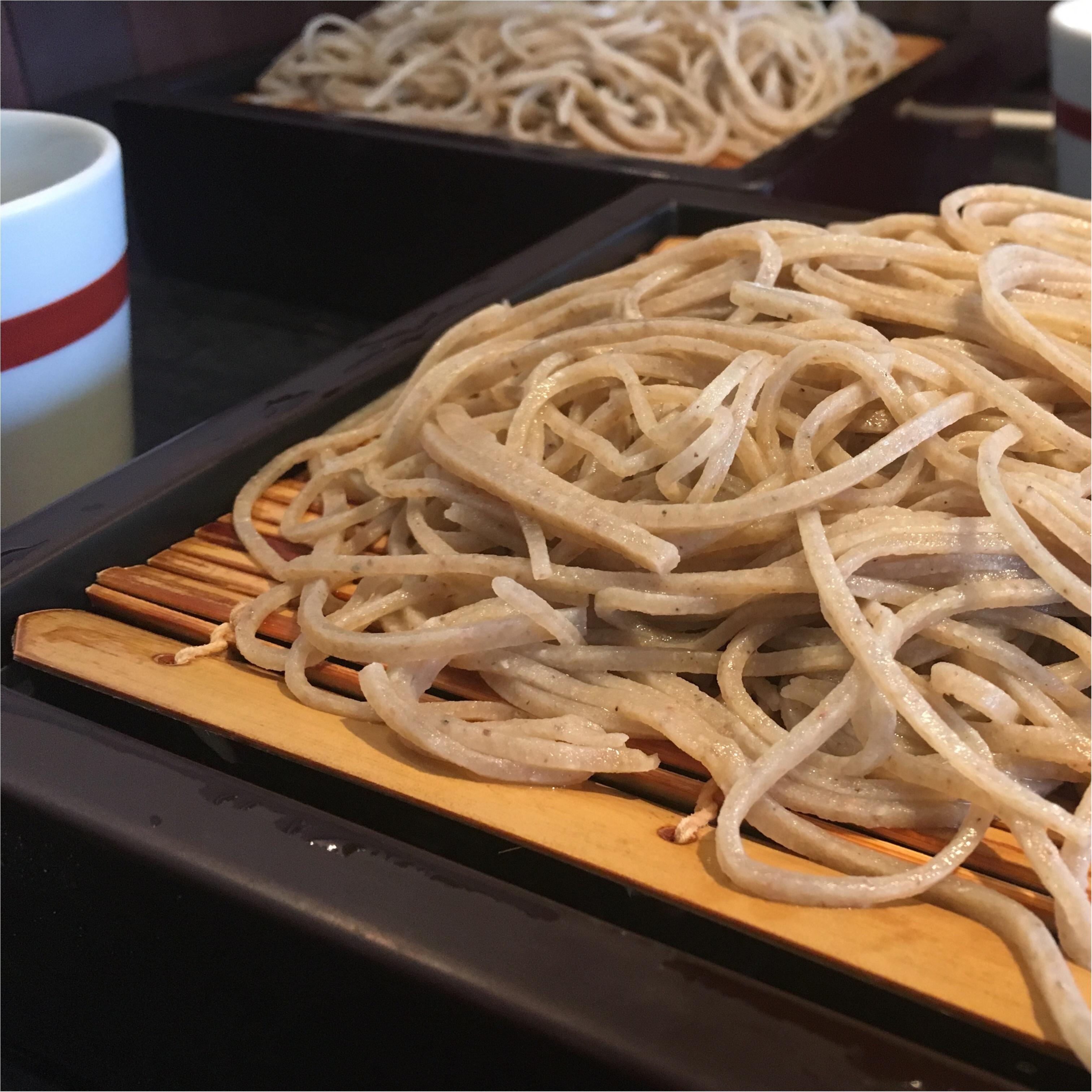 表参道のお蕎麦屋さん「川上庵」でくるみ蕎麦。_2