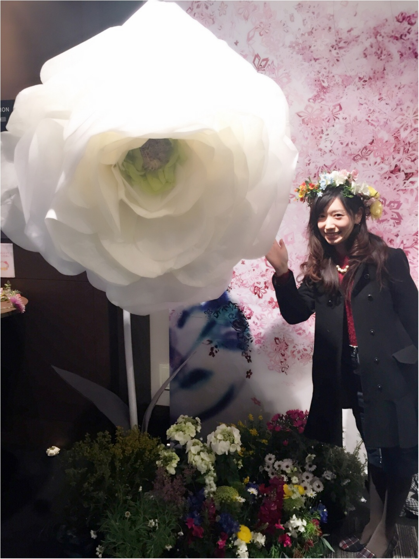 今年も開催中!通算15万人動員の日本一早いお花見イベント「 FLOWERS by NAKED 2017 ー立春ー」@日本橋≪samenyan≫_20