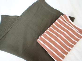 《#170cmトールガール》のプチプラコーデ❤️トレンド感たっぷり!【UNIQLO】リブタイトロングスカートが使える☻