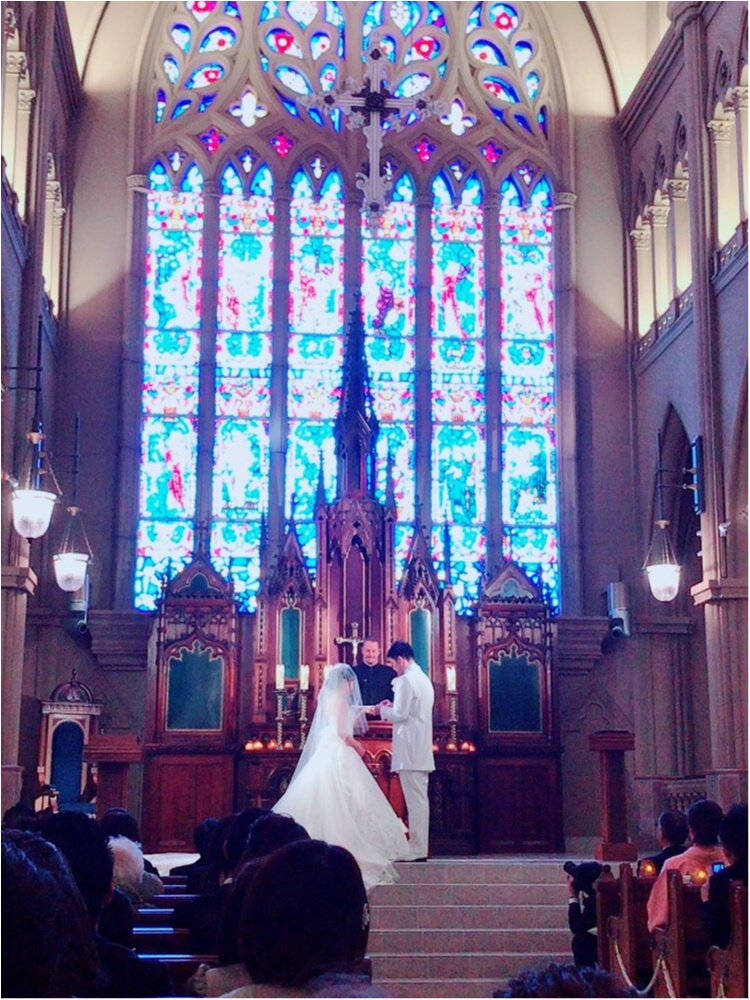 《Happy wedding》around25お呼ばれコーデは華やかにカラードレスにハーフアップで♡式に華を添えましょう!_1