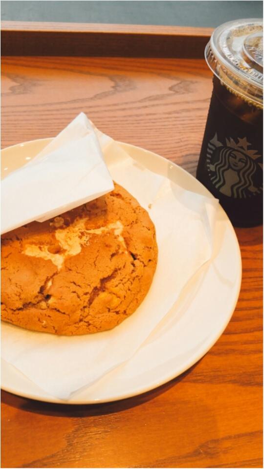 ☆コーヒーとプチ贅沢☆【スタバ新作フード メープルウォールナッツクッキー】_3