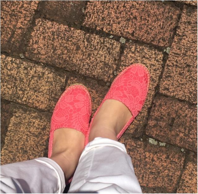 【週末にコレ着たい!】お気に入りの靴ででかけよう★サッカー観戦コーデ★_1
