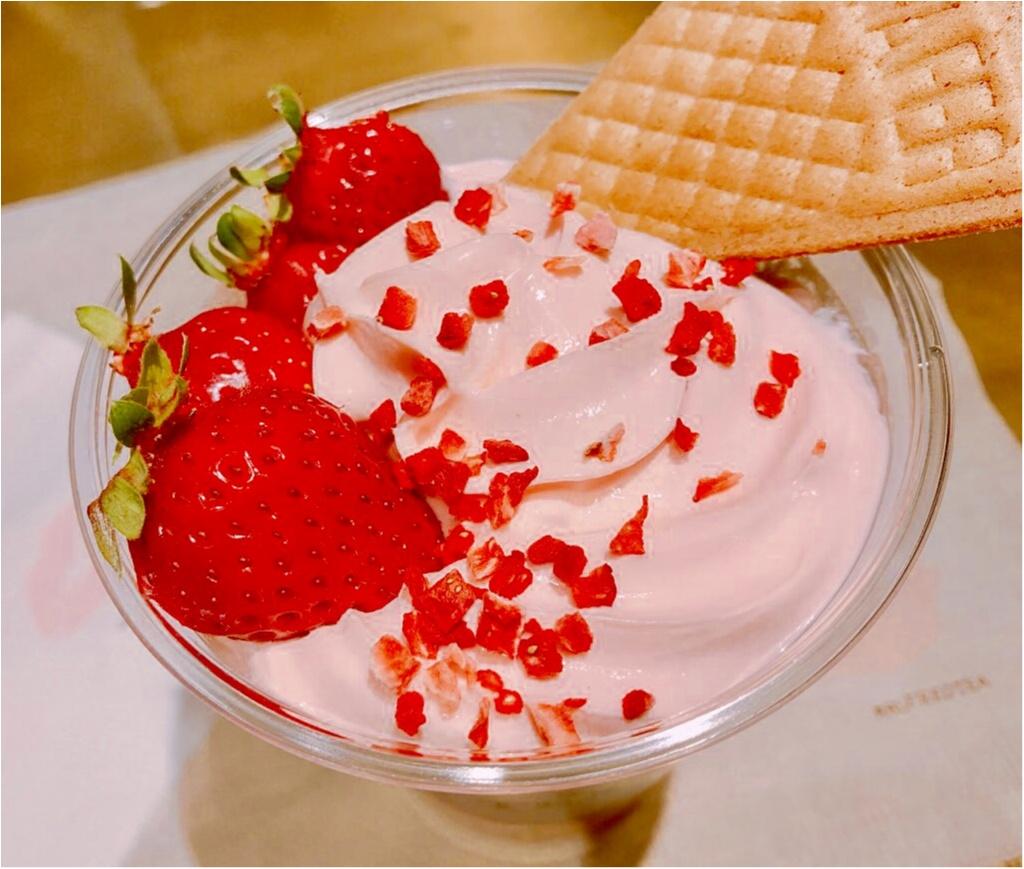 【ALFRED TEA ROOM】春限定ドリンクはイチゴづくし❤︎ピンクづくし❤︎《ストロベリーマニアティー》が美味し可愛い♡♡_2